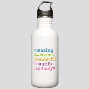 Awesome Landlady Stainless Water Bottle 1.0L