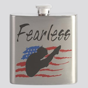 FEARLESS DIVER Flask