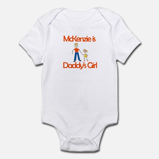 Mckenzie is Daddy's Girl Infant Bodysuit