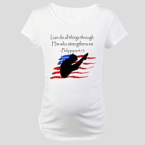 DIVER PRAYER Maternity T-Shirt