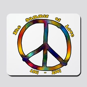 Summer of Love 1967 Mousepad
