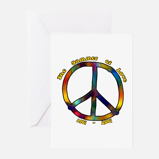 Summer of Love 1967 Greeting Cards (Pk of 10)