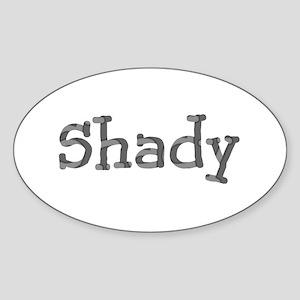 Funny Shady Sarcasm Cool Font 312 Sticker