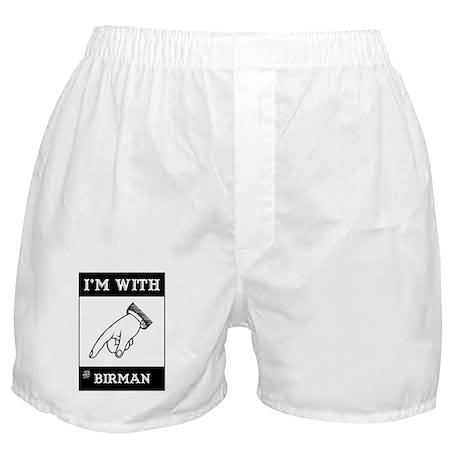 I'm With The Birman Boxer Shorts