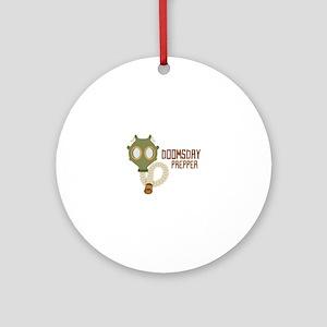 Doomsday Prepper Ornament (Round)