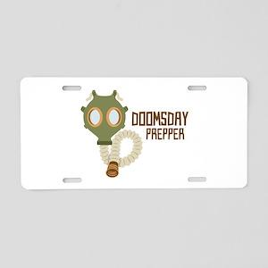 Doomsday Prepper Aluminum License Plate