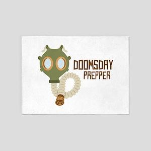 Doomsday Prepper 5'x7'Area Rug