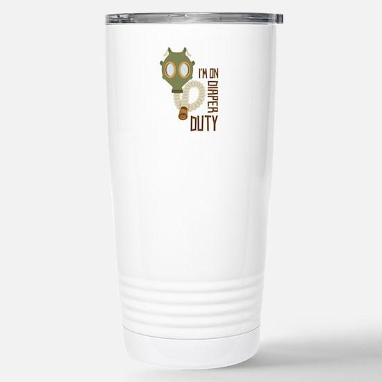 Diaper Duty Travel Mug