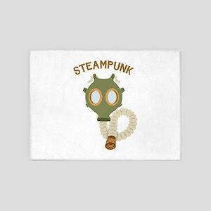 Steampunk 5'x7'Area Rug