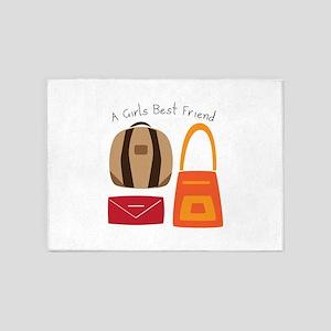 Girls Best Friend 5'x7'Area Rug