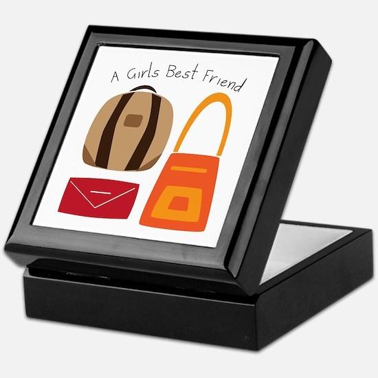Girls Best Friend Keepsake Box