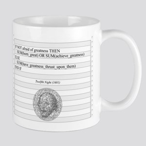 Be not afraid of greatness Mugs