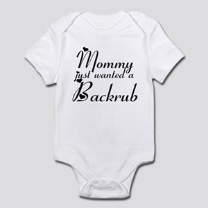 backrub Infant Bodysuit