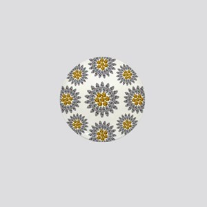 Daisies Mini Button