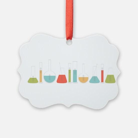 Science Beakers Ornament