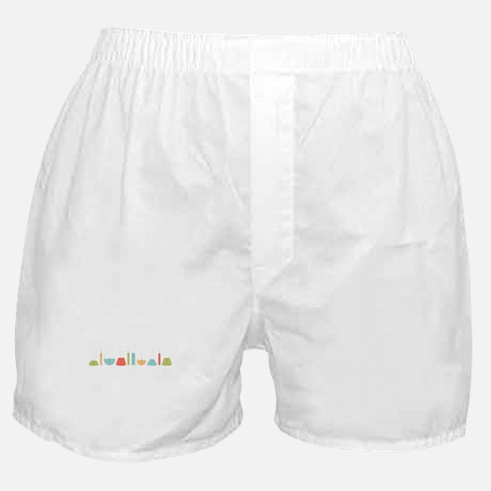 Science Beakers Boxer Shorts