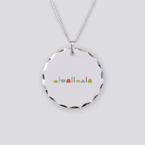 Science Beakers Necklace