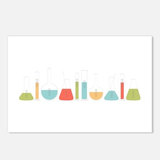 Science Beakers Postcards (Package of 8)