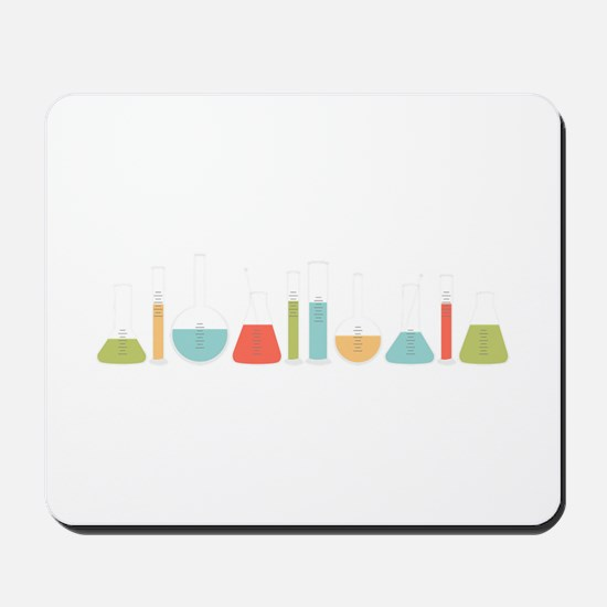 Science Beakers Mousepad