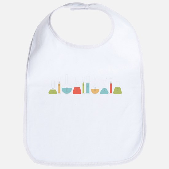 Science Beakers Bib
