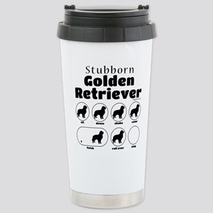Stubborn Golden v2 Stainless Steel Travel Mug