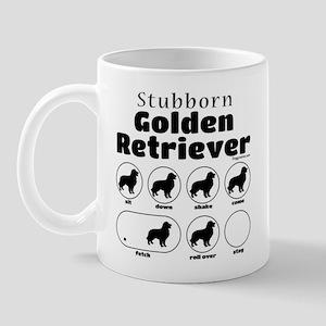 Stubborn Golden v2 Mug