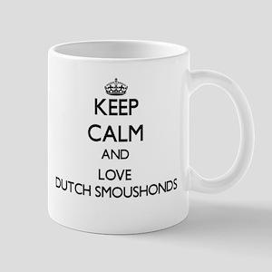 Keep calm and love Dutch Smoushonds Mugs