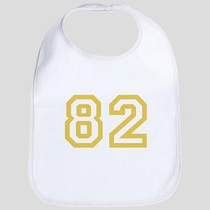 GOLD #82 Bib