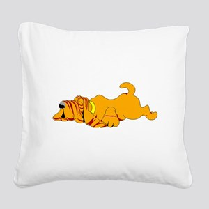 Bloodhound Square Canvas Pillow