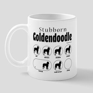 Stubborn Goldendoodle v2 Mug