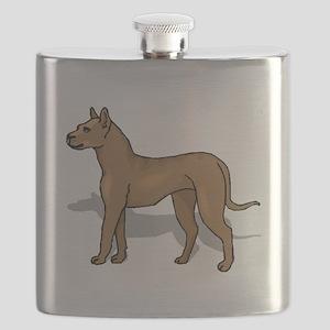 Perro de Presa Canario Flask