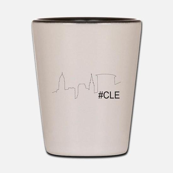 Cute Cleveland ohio Shot Glass