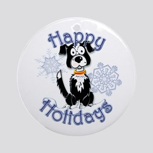 Speck's Snowflake Round Ornament