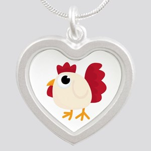 Funny White Chicken Necklaces