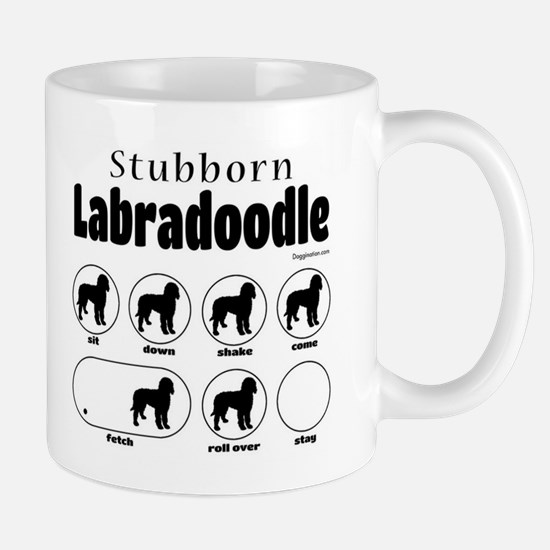 Stubborn Labradoodle v2 Mug