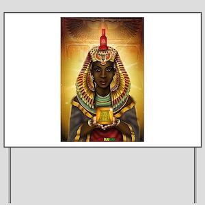 Egyptian Goddess Isis Yard Sign