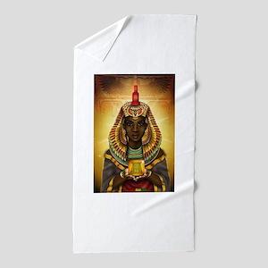 Egyptian Goddess Isis Beach Towel