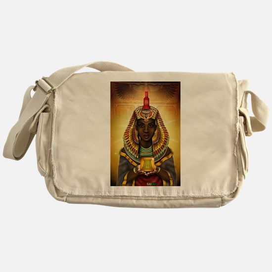 Egyptian Goddess Isis Messenger Bag
