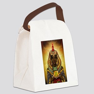 Egyptian Goddess Isis Canvas Lunch Bag