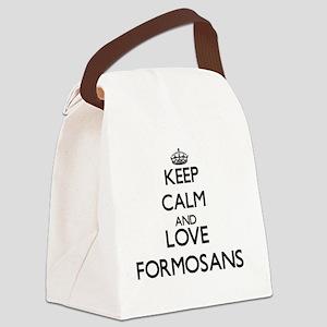 Keep calm and love Formosans Canvas Lunch Bag