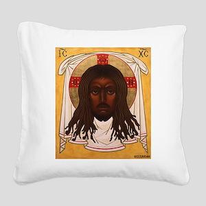 The Lion of Judah Square Canvas Pillow