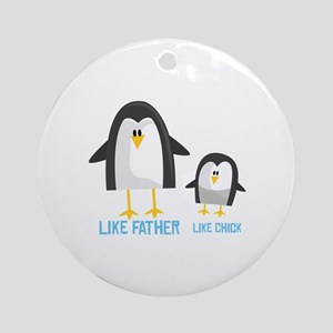Like Father Ornament (Round)