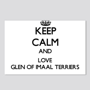 Keep calm and love Glen O Postcards (Package of 8)