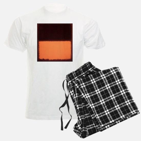 ROTHKO BROWN AND PEACH Pajamas