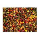 Fall Leaves Autumn Colors 5'x7'area Rug