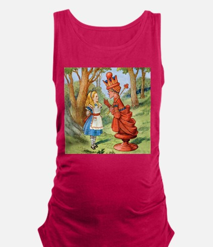 Alice The Red Queen_SQ.png Maternity Tank Top