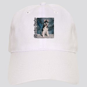 Siberian Husky Puppy Cap
