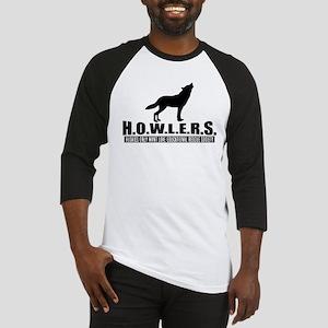 H.O.W.L.E.R.S. Logo Baseball Jersey