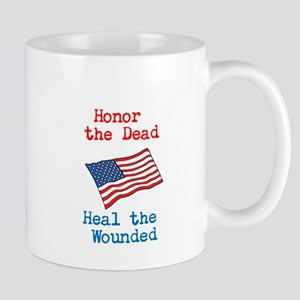 Honor the dead Mug