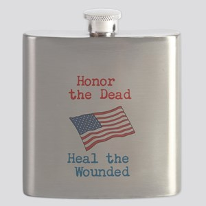 Honor the dead Flask